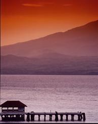 Sunset over Corregidor